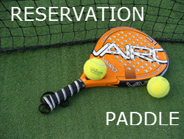 RESERVATION PADDLE